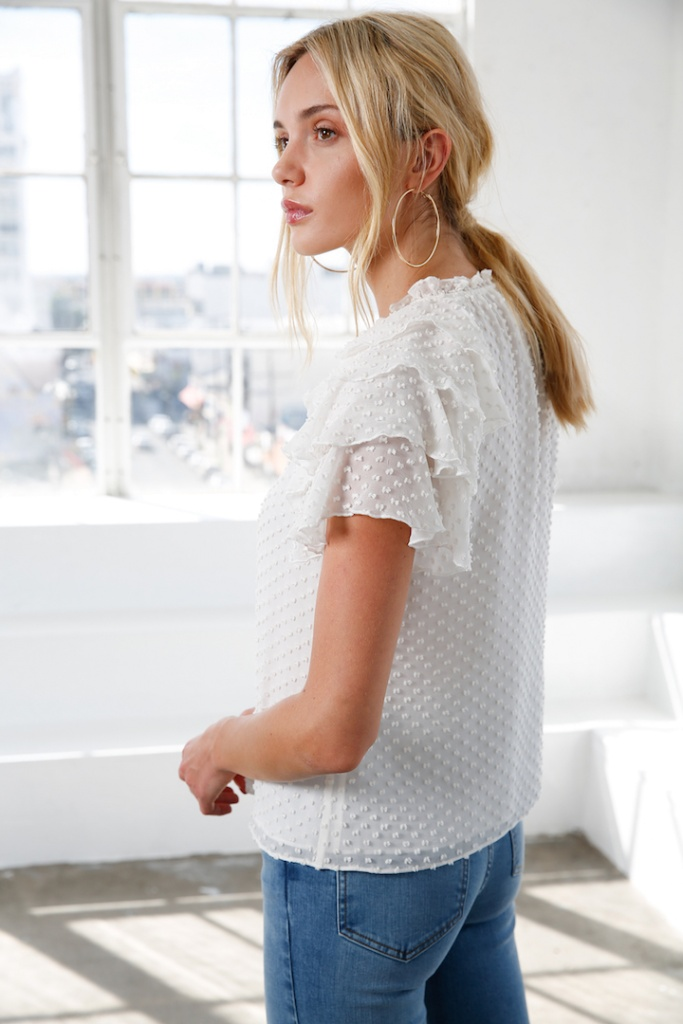 Ellie top - White