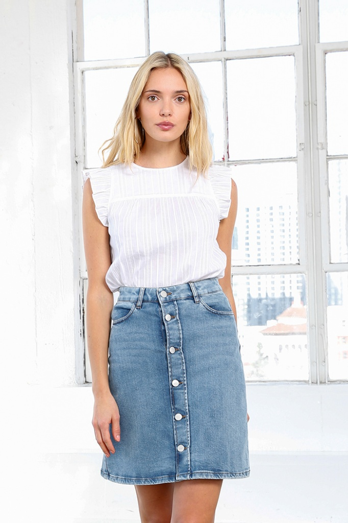 Stella Denim Skirt