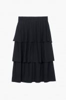 Ariana Midi Skirt - Dark Navy