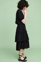 Ariana Midi Skirt - Black