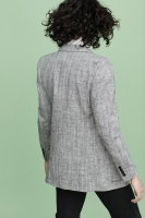 Charlie Linen Blazer - Grey