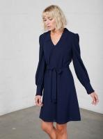 Delia klänning marinblå
