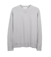 Merinoull sweatshirt grå