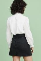 Joni Embroidery Blouse – White
