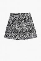 Lana Skirt - Black Leo print