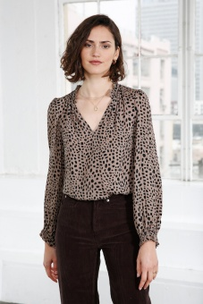 Dakota Blouse - Spot Print