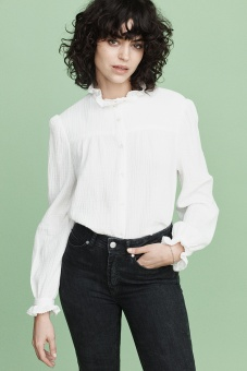 Joni Blouse - White