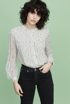 Stevie Blouse - Blossom Print