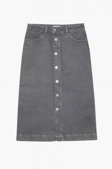 Stacey Denim Skirt - Grey