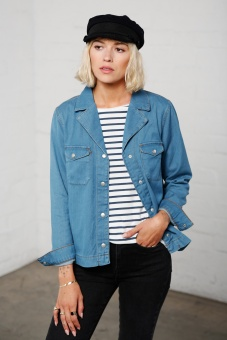 Bonnie denim shirt