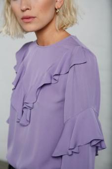 Vivianne blouse violet