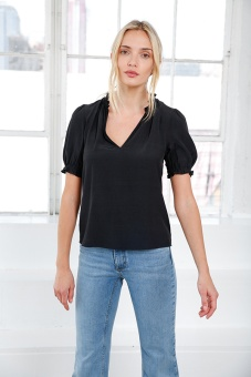 Evelyn Top - Dark Navy