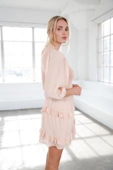 Harper Dress - Blush