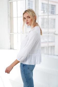 Leah Top - White