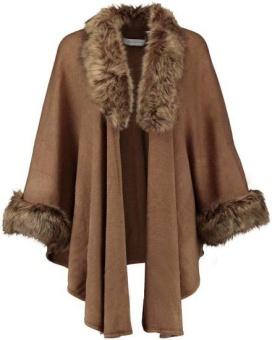 RINO & PELLE Dianne Cape med Faux Fur