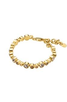 DYRBERG/KERN-- Armband Teresia SG Brown/Gold