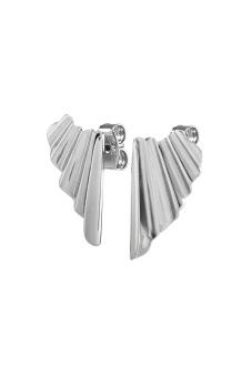 DYRBERG/KERND-Örhängen Blida Shiny Silver