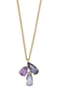 AVIRA necklace sg lavender