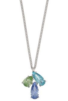 AVIRA necklace ss aqua