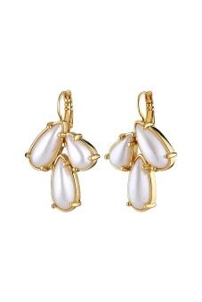 AUBIN earring sg white pearl