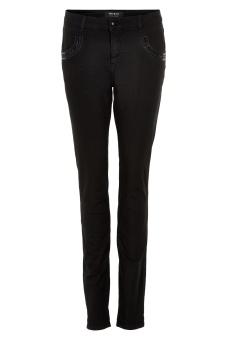 MosMosh Naomi Shine Black Jeans