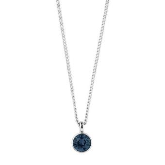 DYRBERG/KERN-Halsband Ette SS Dark Blue