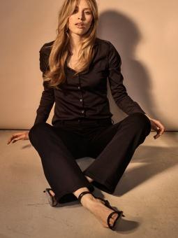 MosMosh Victoria Silk Flare Jeans