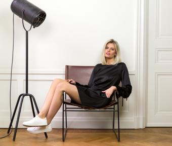 Modes Stockholm Maria blacks ilk Klänning