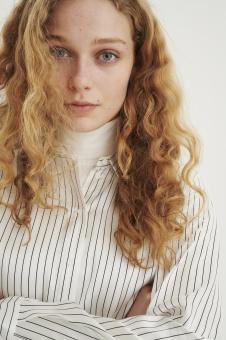 Inwear Leonore Stripe Silkskjorta