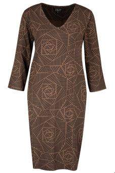 Zilch Mönstrad klänning