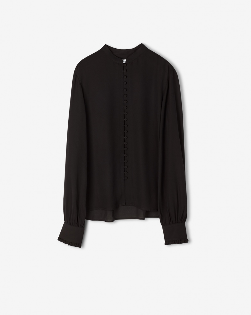 FILIPPA K Blus, Sheer Button