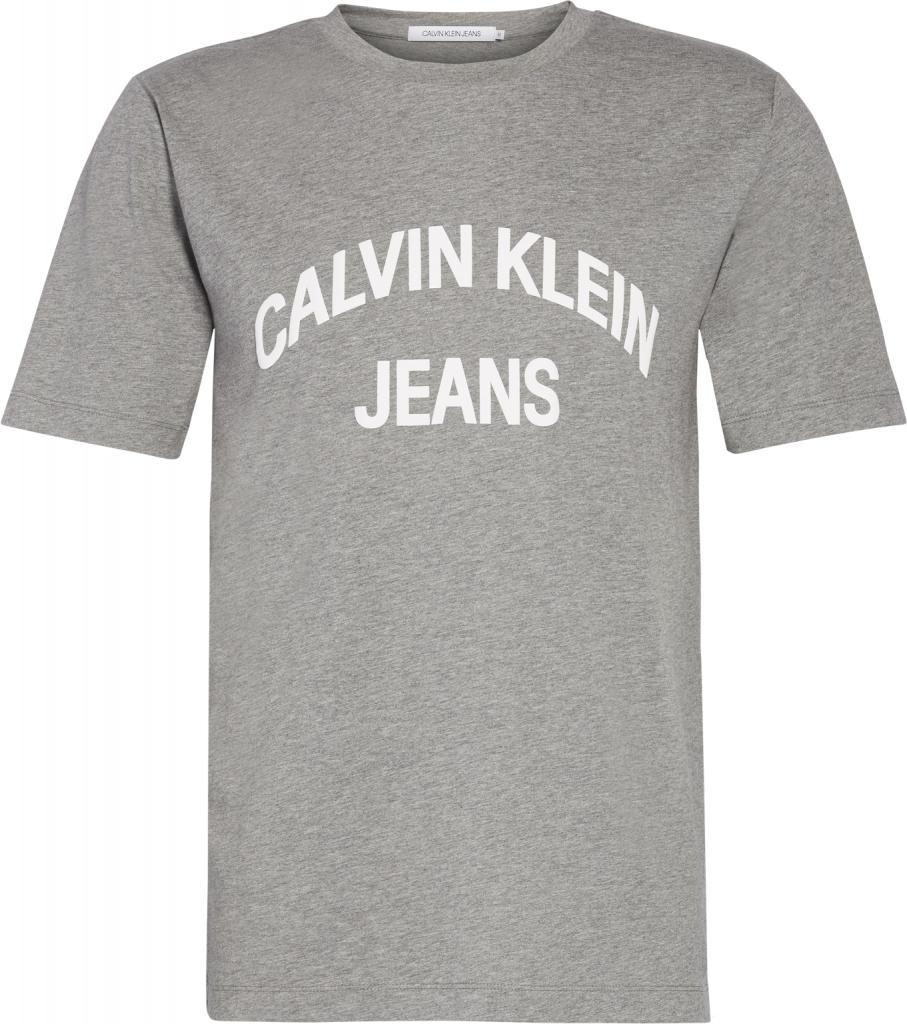 CALVIN KLEIN T-shirt INSTIT CURVED VARSIT