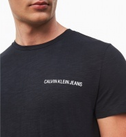 CALVIN KLEIN T-shirt, Chest instit slub slim