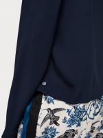 SCOTCH & SODA Topp, tie detail