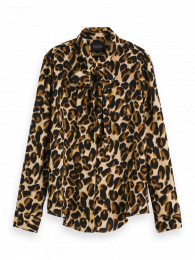 SCOTCH & SODA Blus, Regular fit shirt with allover print