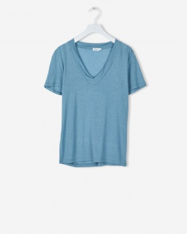 FILIPPA K Topp Tencel Deep V-neck