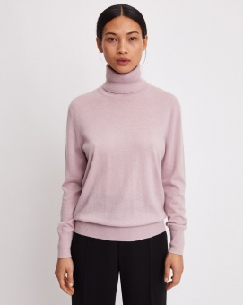 FILIPPA K Tröja Silk Mix Roller neck