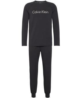 CALVIN KLEIN Loungewear set, Knit L/S pant set