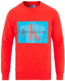 CALVIN KLEIN  Monogram Box Logo sweater