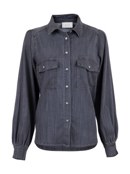 Neo Noir Blus Amber Chambray