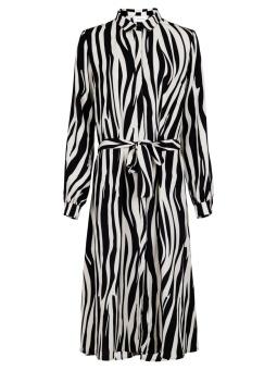 Neo Noir Klänning Bristol Mega Zebra