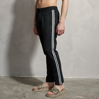 LJUNG Byxa Cropped Side Taping Trousers