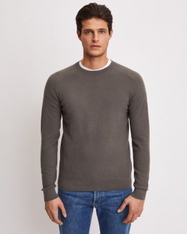 FILIPPA K Tröja Cotton Merino Mini Stucture
