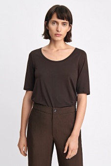 FILIPPA K Topp, Tencel Scoop-neck
