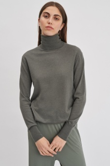 FILIPPA K Tröja, Silk Mix Roller neck  Sweater
