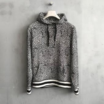 LJUNG Tröja, Hood sweater printed