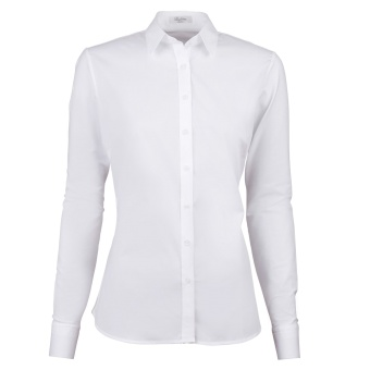STENSTRÖMS Skjorta, Shirt S poplin stretch/jersey