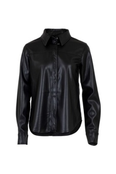 Neo Noir Skjorta Cana Fux Leather