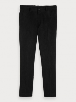 SCOTCH & SODA Byxa, STUART chino in structured velvet 0008