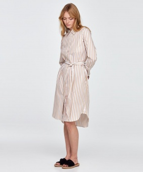 MORRIS Klänning Chiara Striped Shirt Dress